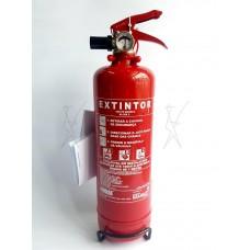 Extintor Pó Químico ABC - 1Kg