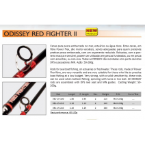 Cana Barros Odissey Red Fighter II 180