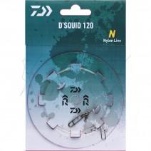 Montagem Daiwa D'Squid 120/2