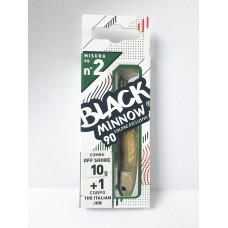 Fiiish - Black Minnow 90 Nº2 - Combo Off Shore 10gr - The Italian Job (Cor Exclusica)
