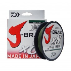 Fio Daiwa J-Braid 8X Verde-Bob.150mt