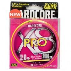 Fio Duel Hardecore X8 Pro 150m - Yellow