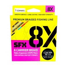 Fio Sufix SFX 8X - Multicolor 300M