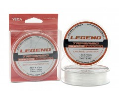 Fio Vega Legend Shock Leader 10x15m - Transparente