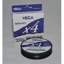 Fio Vega Braid X4 Moss Green - Bob.135mt