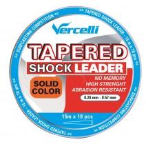 Fio Vercelli Cónico Shock Leader 10x15m - Transparente